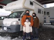 キャンピングカーで冬キャンプ